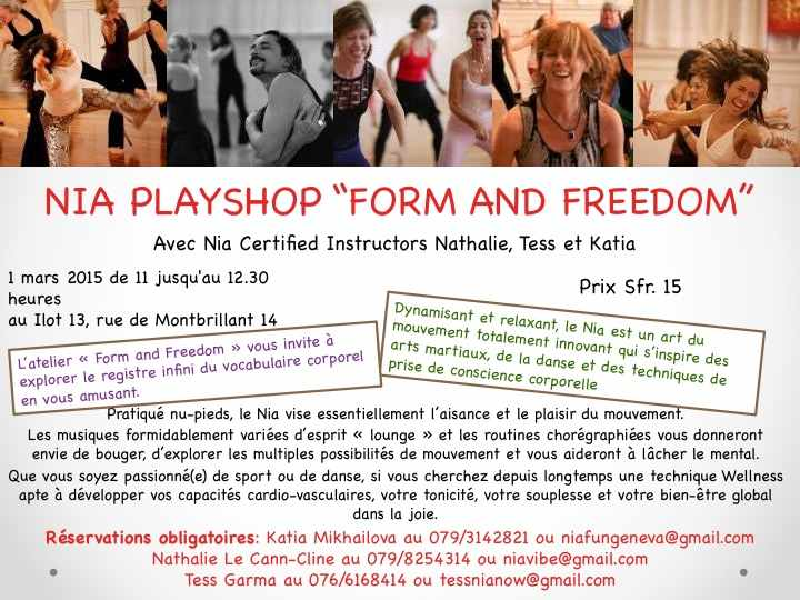 "Nia Playshop ""Form and Freedom"""