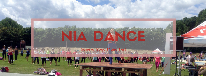 Nia Dance at the upcoming Geneva Yoga and Music Fest
